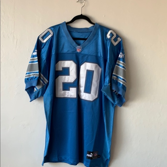 9f95ca6bd92 Puma Other | Authentic Barry Sanders Jersey | Poshmark
